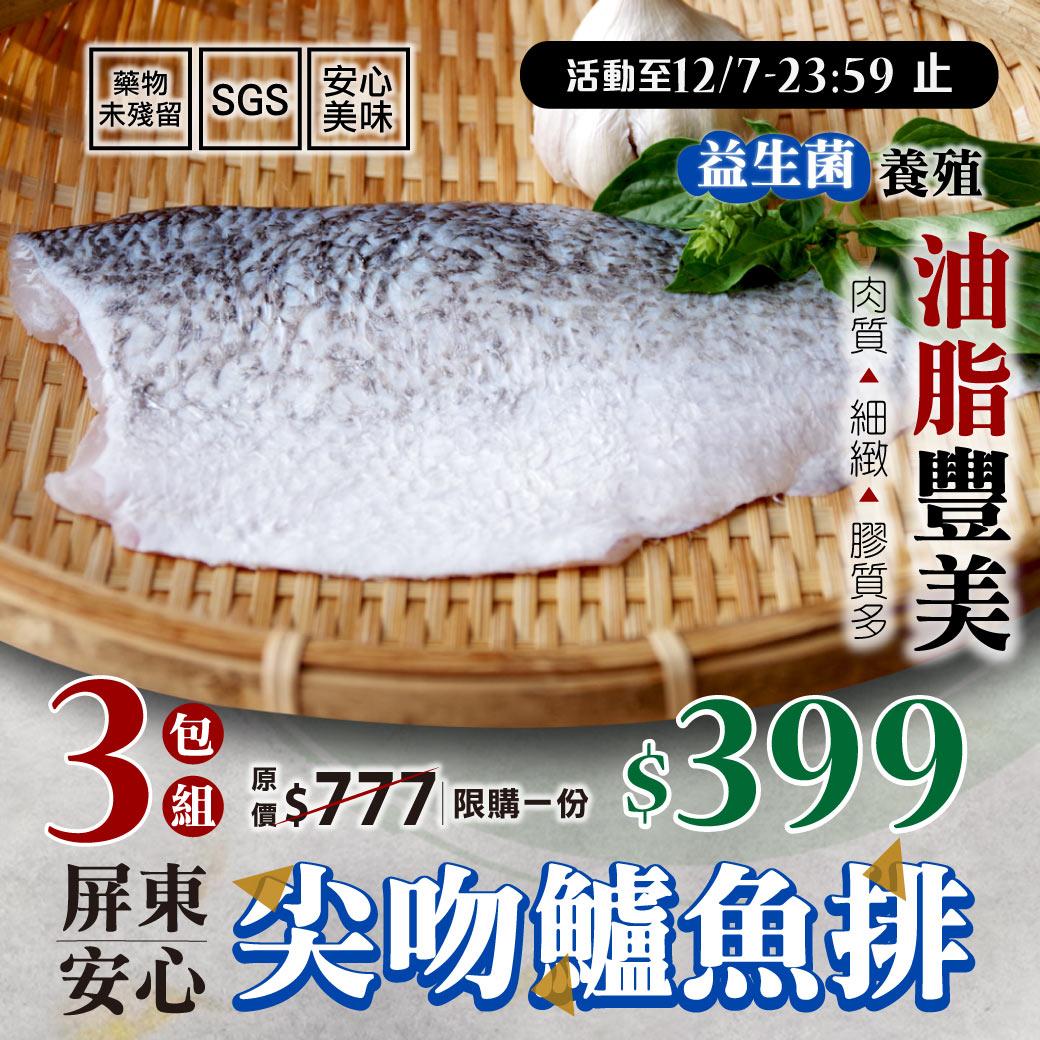 尖吻鱸魚排